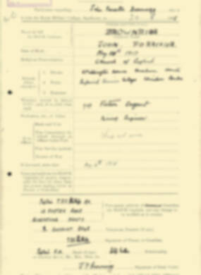 RMC Form 18A Personal Detail Sheets Aug 1935 Intake - page 34