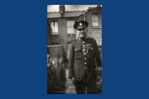 Police sergeant, Dorset Road, Merton Park