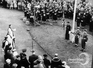 Remembrance Day Service, Morden