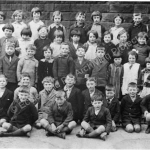 High Green School, Mrs Walker's class 1931-32
