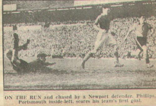 19490212 Newport Phillips goal