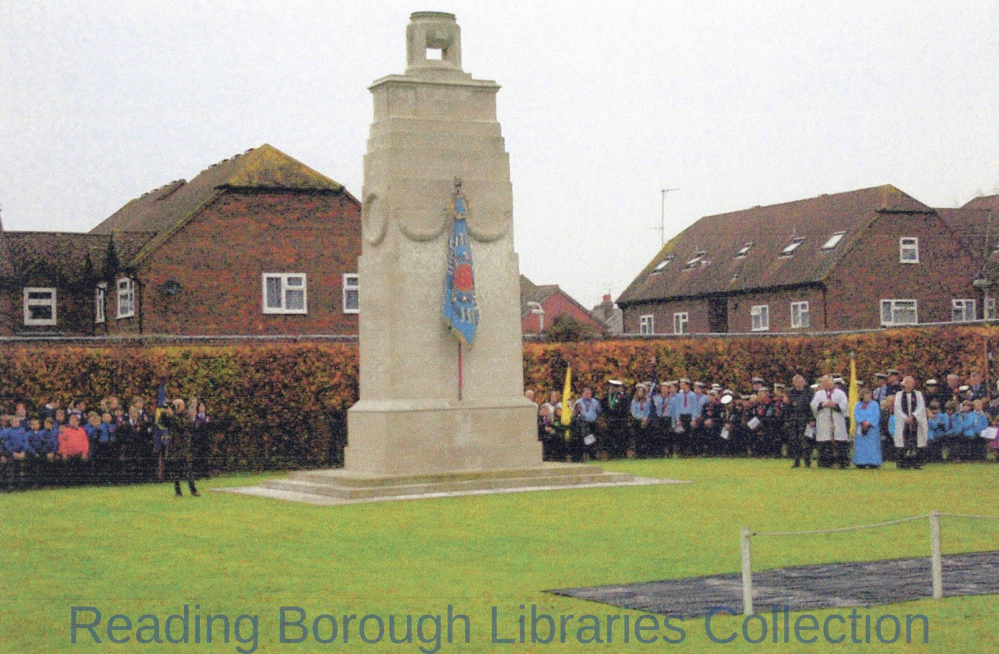 Cenotaph Brock Barracks, Oxford Road, Reading.
