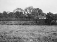 Church House, Merton: Part of the old perimeter wall