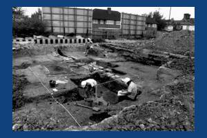 Merton High Street: William Morris Archaeological Dig