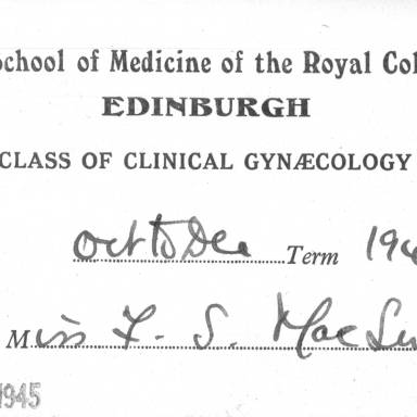 Clinical Gynaecology - part 1