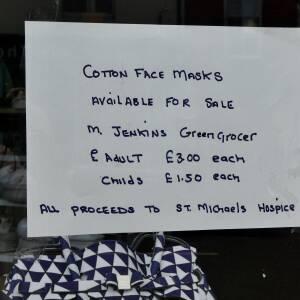 Cotton face masks for sale Ledbury.
