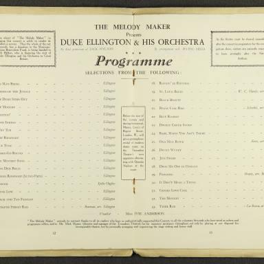 Duke Ellington Orchestra British Tour – July 1933 007