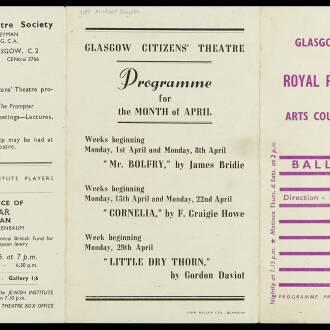 Royal Princess's Theatre, Glasgow, March 1946
