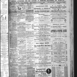 Ross Gazette - 1884