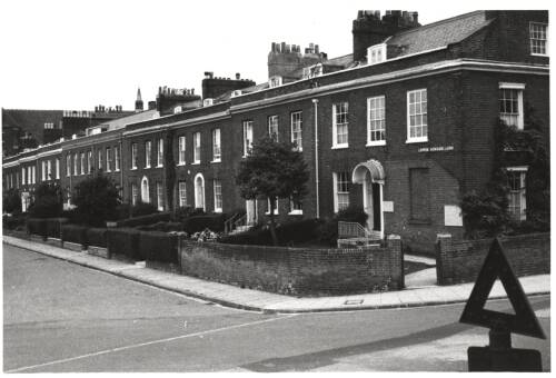 Lower Summerlands from Paris Street, c1960 Exeter