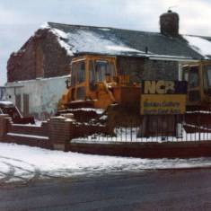 Demolition of Boldon Colliery Buildings