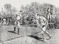 All England Lawn Tennis Club: Renshaw v Lawson