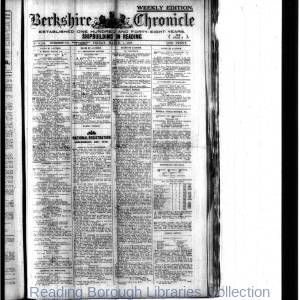 Berkshire Chronicle Reading 03-1918