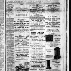 Ross Gazette - 1886