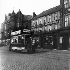 Horse Tram in Market Place