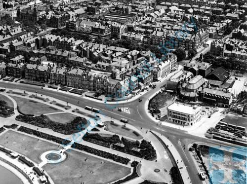Southport, Promenade, aerial, 1930