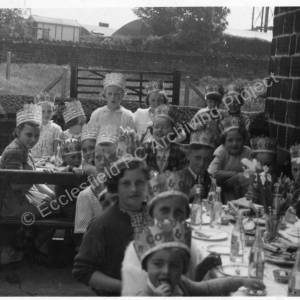 Coronation Tea Party, Potter Hill Methodist Chapel 1953 B