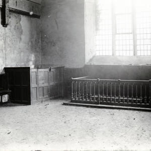 St Giles church, interior, Herefordshire, 1927