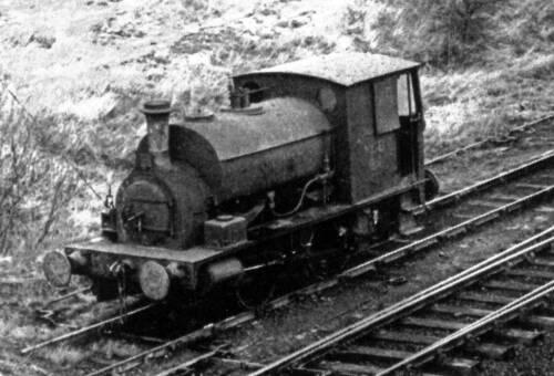 114 Steam locomotive on Skelmanthorpe sidings