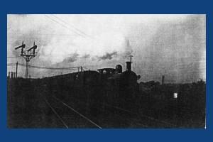 Train near Wimbledon Station