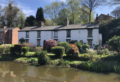 Listed Lymm - under construction