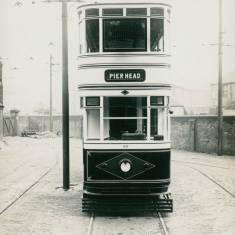 South Shields CorporationTram car no.45