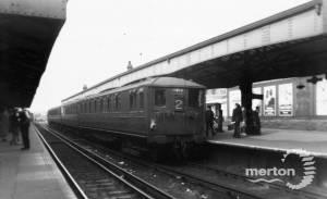 Platform 2, Wimbledon Station