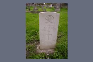 Gravestone of Frederick H Patrick