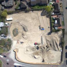 2019 04 April Aerial View Construction of All Saints View 10 Houghton Regis