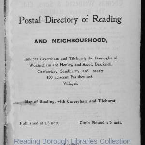 Smith's Directory of Reading 1914