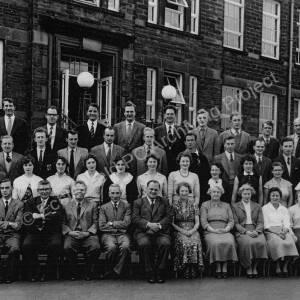 Staff at Ecclesfield Grammar School, 1960.jpg