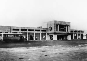 Exterior of Morden Underground Station