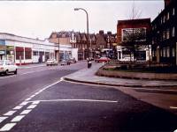 London Road, Mitcham: Junction with Gorringe Park Road