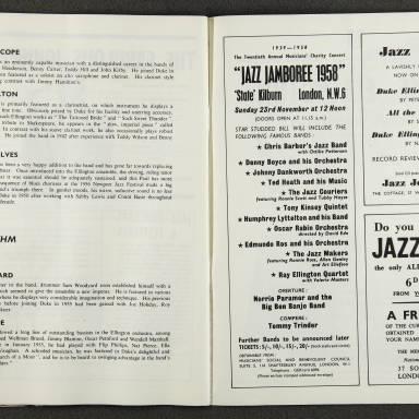Duke Ellington Orchestra British Tour – October 1958 009
