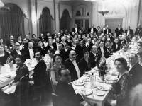 Mayor's dinner, Hotel Rembrandt