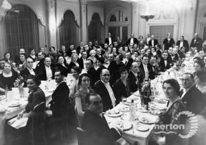 Mayor's dinner, Hotel Rembrandt