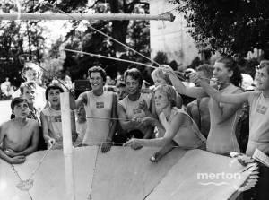 Swedish Athletes at Fete, Mitcham