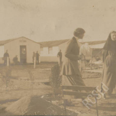 Scottish Women's Hospitals 'American Unit' in Thessaloniki (Salonika), 1917