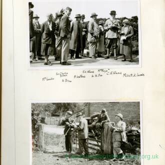 Straight Track Club Portfolio 18. Second Round. Started July 1934