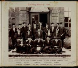 Photograph Album - 1911-1916_0037 Debating Society 1915.jpg