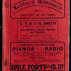 Tilley's Ledbury Almanack 1938