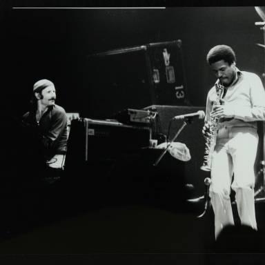 Joe Zawinul and Wayne Shorter (left to right)