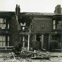 Cedar Street, bomb damage, Blitz