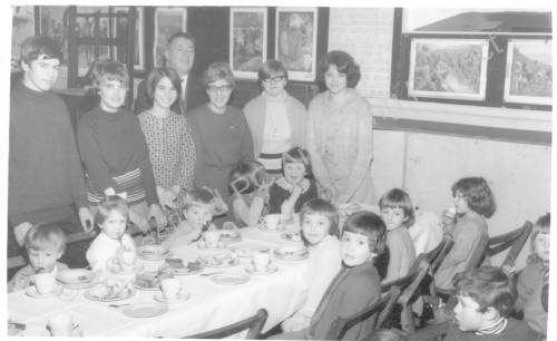 St Marks Sunday School Christmas Party 1967