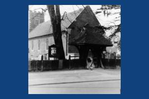 Lych Gate, St Lawrence's Church, Morden.