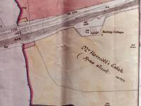 Harriott's Estate, West Barnes: 1865 map Version One