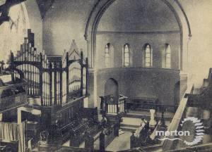Wesleyan Church,  Worple Road, Wimbledon