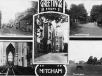 Mitcham Views: Postcard