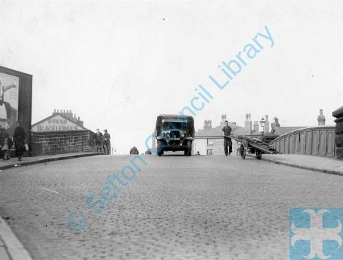 Bootle, Coffee House Bridge, before reconstruction, 1937