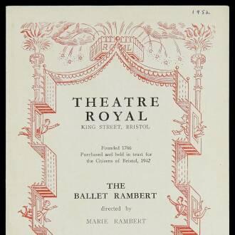 Theatre Royal, Bristol, February–March 1952 - P03